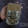 กระเป๋าคาดเอว ผ้าไนลอน B09 สีทหาร