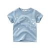 เสื้อแขนสั้นสีฟ้าลายน้องหมี แพ็ค 6 ชิ้น [size 2y-3y-4y-5y-6y-7y]