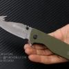มีดพับ เบเร็ตต้า BERETTA X23 ด้ามสีเขียวทหาร