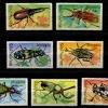แสตมป์มองโกเลีย ชุด Beetles แมลงปีแข็ง ด้วง ปี 1991 - MONGOLIA