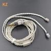 ขาย KZ Premium สายชุบเงินถัก ขั้ว 2 พิน 0.78 สำหรับหูฟัง KZ เกรดพรีเมี่ยม