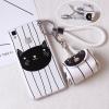 เคส VIVO V3Max พลาสติก TPU ลายแมวสุดกวน พร้อมสายคล้องมือและกระเป๋าเก็บสายหูฟัง ราคาถูก