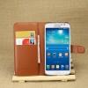 เคส Samsung Galaxy Grand 2 แบบฝาพับด้านข้างหนังเทียมสีพื้นคลาสสิค ด้านในสามารถใส่บัตรได้ควรมีไว้สักอัน ราคาถูก