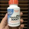 # กระดูก # Doctor's Best, Best Vitamin D3, 5000 IU, 180 Softgels