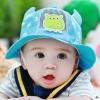 หมวกลายเอเลี่ยนมีเขาสีฟ้า แพ็ค 3 ชิ้น
