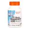 # หน้าเด็กลง # Doctor's Best, Trans-Resveratrol 600, 600 mg, 60 Veggie Caps