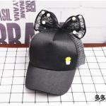 หมวก สีดำ แพ็ค 5ใบ ไซส์รอบศรีษะ 54cm