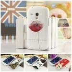 Case S3 mini เคส Samsung Galaxy S3 mini เคสพลาสติกขอบโปร่งแสงลายการ์ตูนน่ารักๆ ลายอาร์ตๆ สวยๆ