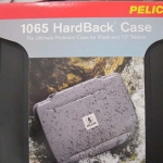 Pelican HardBack Case W/Tablet Liner Fits iPads & Tablets Black New PL1065CC