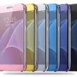 เคส Samsung C9 Pro แบบฝาพับสวย หรูหรา สวยงามมาก ราคาถูก