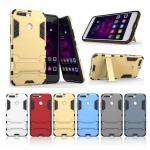 เคส Huawei Honor V9 เคสกันกระแทกแยกประกอบ 2 ชิ้น ด้านในเป็นซิลิโคนสีดำ ด้านนอกพลาสติกเคลือบเงาโลหะเมทัลลิค มีขาตั้งสามารถตั้งได้ สวยมากๆ เท่สุดๆ ราคาถูก