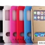 เคส iphone 6 plus (5.5) แบบฝาพับโชว์หน้าจอ บน - ล่าง สวยมากๆ ราคาส่ง ราคาถูก
