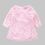 เสื้อ สีชมพู แพ็ค 5 ชุด ไซส์ 90-100-110-120-130 (เลือกไซส์ได้)