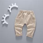 กางเกง สีกากี แพ็ค 4ชุด ไซส์ 80-90-100-110 (เหมาะสำหรับ 6ด.-4ปี)