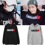 เสื้อฮู้ด (Hoodie) Canada แบบ Yonghwa