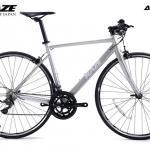 จักรยานเสือหมอบแฮนด์ตรง KAZE Asphalt CX ชุดขับ Claris 16 สปีด ปี 2018