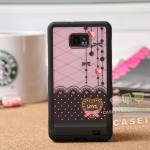Case S2 Case Samsung Galaxy S2 i9100 เคสแยกประกอบ 3 ชิ้น ลายน่ารักๆ สีแนวหวานๆ สวยๆ