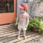 เสื้อ สีน้ำตาล แพ็ค 5 ชุด ไซส์ 80-90-100-110-120