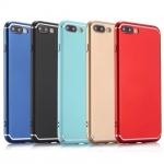 เคส iPhone 8 Plus พลาสติกสีพื้นสวยงามมาก ราคาถูก