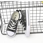 รองเท้าผ้าใบเด็ก สีดำ แพ็ค 6 คู่ ไซส์ 30-31-32-33-34-35