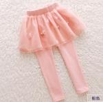 กางเกง สีชมพู แพ็ค 6 ชุด ไซส์ 100-110-120-130-140-150