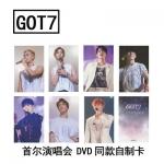 ชุดการ์ด #GOT7 FLY IN SEOUL (แฟนเมด)