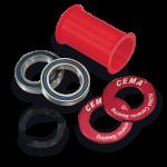 กะโหลกอัด CEMA Ceramic Press Fit BB,SRC-BB90CR for Shimano/Sram
