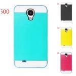 เคส S4 Case Samsung Galaxy S4 i9500 NX CASE เคสซิลิโคนสีเจ็บๆ ด้านนอกหุ้มพลาสติกสีตัดกันสวยๆ