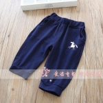 กางเกง สีน้ำเงิน แพ็ค 5 ชุด ไซส์ 100-110-120-130-140