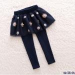 กางเกง สีกรม แพ็ค 6 ชุด ไซส์ 100-110-120-130-140-150