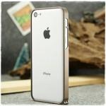 case iphone 5c เคสไอโฟน5c ขอบเคส bumper โลหะ เท่ๆ Ultra-thin 0.7mm aluminum frame 5C