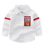 เสื้อ สีขาว แพ็ค 6 ชุด ไซส์ 90-100-110-120-130-140
