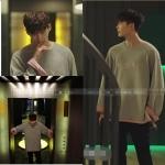 เสื้อแขนยาว (Sweater) NOYB สีเทา แบบ Lee Jongsuk ในซีรี่ย์ W