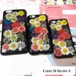 เคสไอโฟน6 4.7 นิ้ว พลาสติกลายดอกไม้แสนหวาน ราคาถูก
