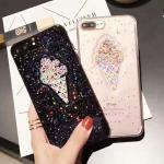 เคส iPhone 6 Plus / 6s Plus (5.5 นิ้ว) พลาสติก TPU กากเพชรฟรุ้งฟริ้ง สวยงามมาก ราคาถูก