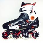 รองเท้าสเก็ต rollerblade แบบสลาลม รุ่น MCD สีดำ-ขาว Fixed Size 45