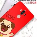 เคส Huawei Mate 9 พลาสติกสกรีนลายการ์ตูนน่ารักมากๆ พร้อมสายคล้อง ราคาถูก