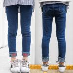 กางเกง สีน้ำเงิน แพ็ค 5 ชุด ไซส์ 120-130-140-150-160 (เลือกไซส์ได้)