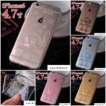 เคส iphone 6 4.7 นิ้ว ซิลิโคน TPU โปร่งใส 3 มิติ ลายการ์ตูนสติชน่ารักมากๆ ราคาถูก -B-