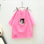 เสื้อ สีชมพู แพ็ค 5 ชุด ไซส์ 7-9-11-13-15
