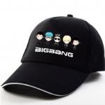 หมวกเบสบอล BIGBANG (ฟ้า, ดำ)