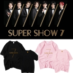 เสื้อยืด (T-Shirt) SJ - WORLD TOUR SUPER SHOW 7