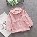 เสื้อแจ็คเก็ต สีชมพู แพ็ค 4 ชุด ไซส์ 70-80-90-100