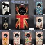 เคส ZenFone 5 แบบฝาพับหนังเทียมลายการ์ตูน ด้านในเป็นพลาสติก ตัวเคสสามารถตั้งได้ ราคาส่ง ราคาถูก