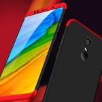 เคส Xiaomi Redmi 5 Plus พลาสติกประกอบหัว+ท้าย สวยงามมาก ราคาถูก (ไม่รวมฟิล์ม)