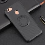 เคส OPPO F5 / F5 Youth / F5 6GB ซิลิโคน soft case สีดำสุดเท่ มีแหวนในตัวสวยงามมาก ราคาถูก