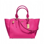 Preorder COACH CROSBY CARRYALL IN CROSSGRAIN LEATHER Style No: 33995