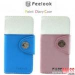 case iphone 5 เคสไอโฟน5 เคสหนังกระเป๋าสีสวยThe Korea FeeLook holster