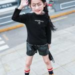 เสื้อ สีดำ แพ็ค 5 ชุด ไซส์ 120-130-140-150-160 (เลือกไซส์ได้)