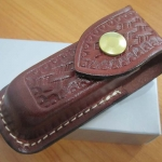 VICTORINOX Zermatt Belt Pouch Large Brown Leather Pocket Knife VN33206